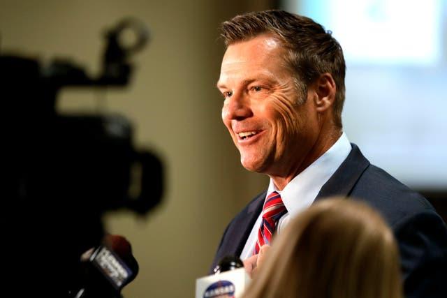 Election 2022 Kansas Attorney General Kobach