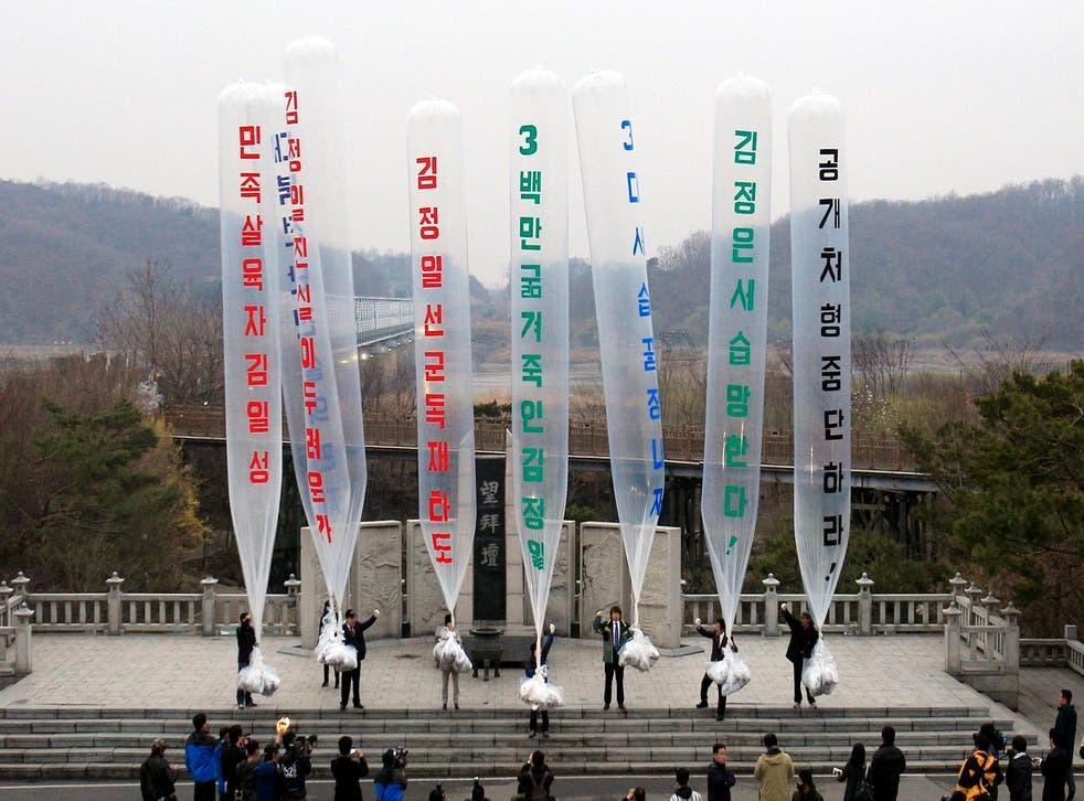 Koreas Propaganda Leaflets