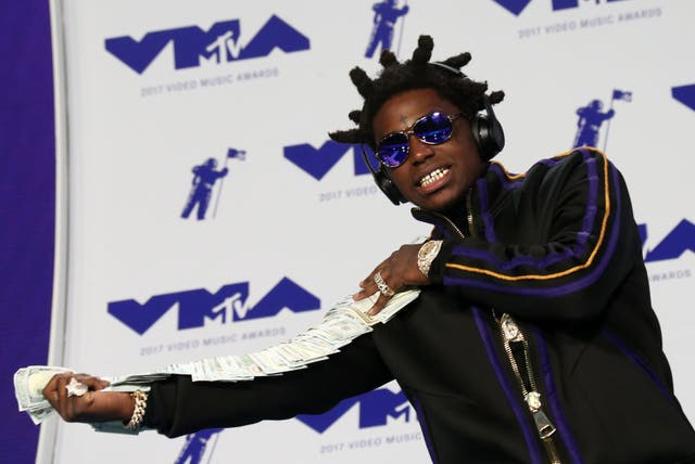 <p>File image: Rapper Kodak Black at the MTV Video Music Awards 2017</p>
