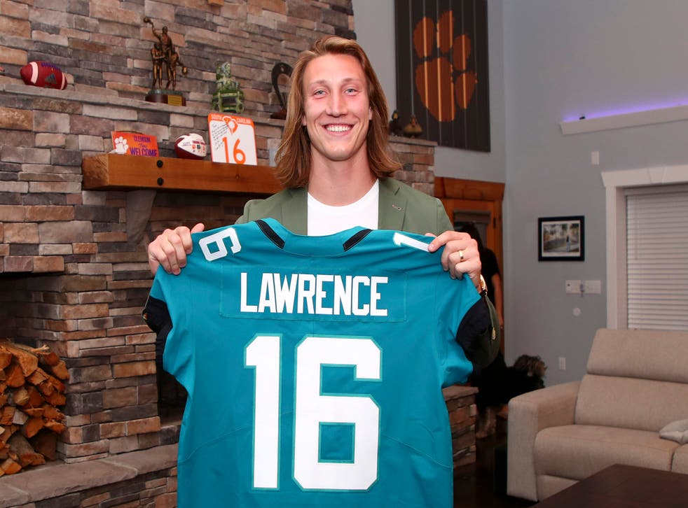 <p>Trevor Lawrence was the consensus first pick in the draft</p>