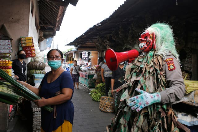 Indonesia Fake Mask