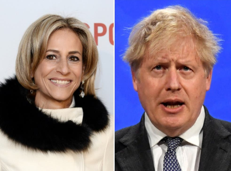 <p>People on social media were impressed with Emily Maitlis' speech on Boris Johnson's flat refurbishment scandal.</p>