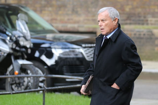 <p>The WPP founder said his old firm's decision to withhold payments from him was 'petty'</p>
