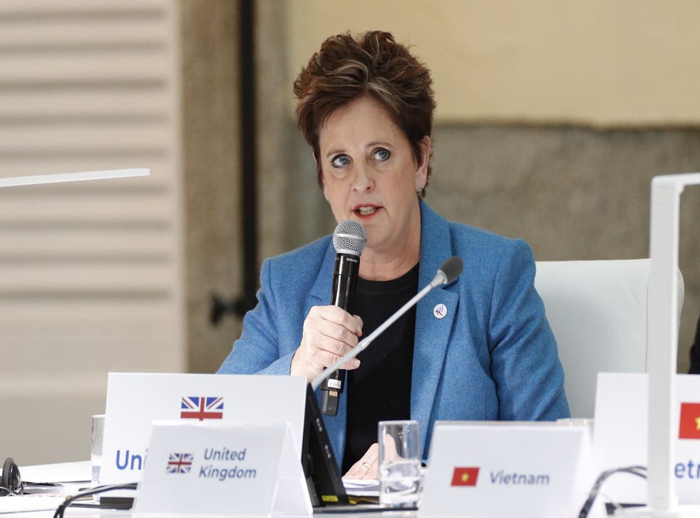 <p>UK ambassadors to the United Nations, Tokyo, Washington, Beijing, Moscow, Canberra, Moscow, Paris and Berlin are now all women</p>