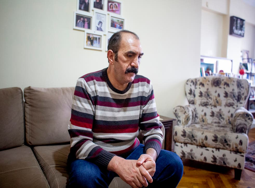 <p>Unlu lost his daughter in a bombing, his wife a few months later, and last year his son fled the country after being pursued by Turkish authorities</p>