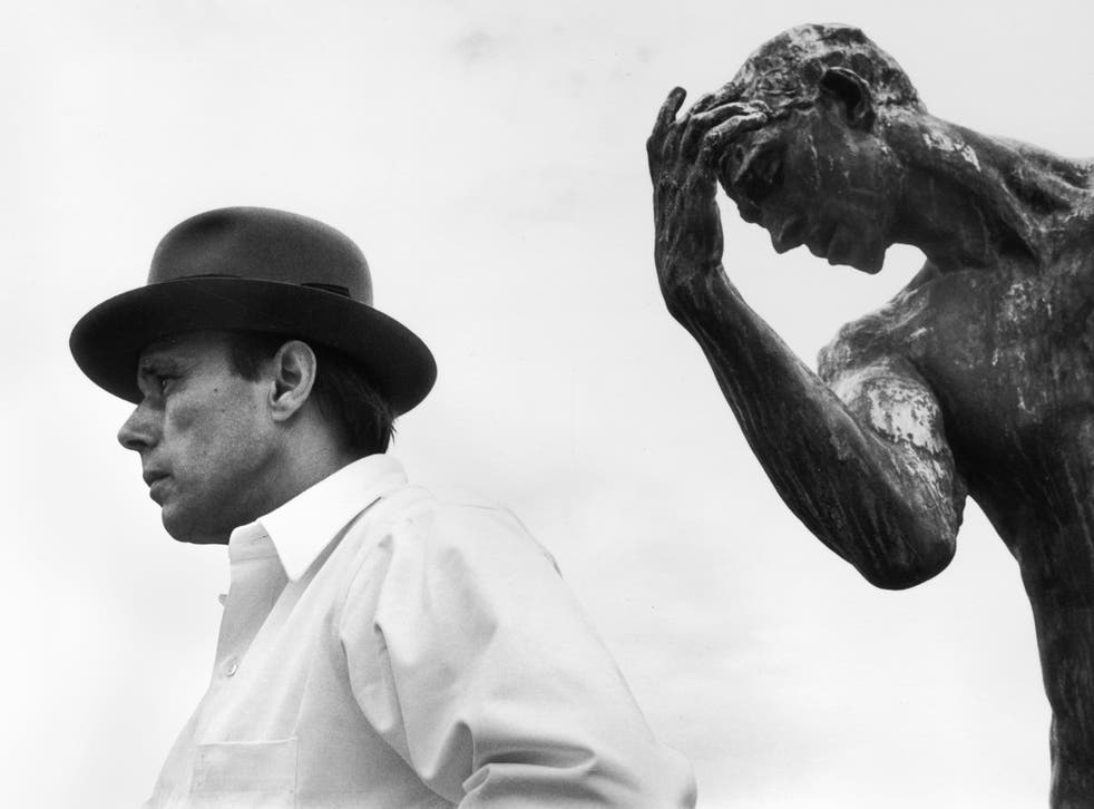 <p>For Joseph Beuys, art could be anything</p>
