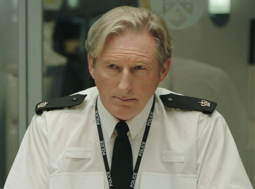 <p>Adrian Dunbar as Superintendent Ted Hastings in Line of Duty</p>