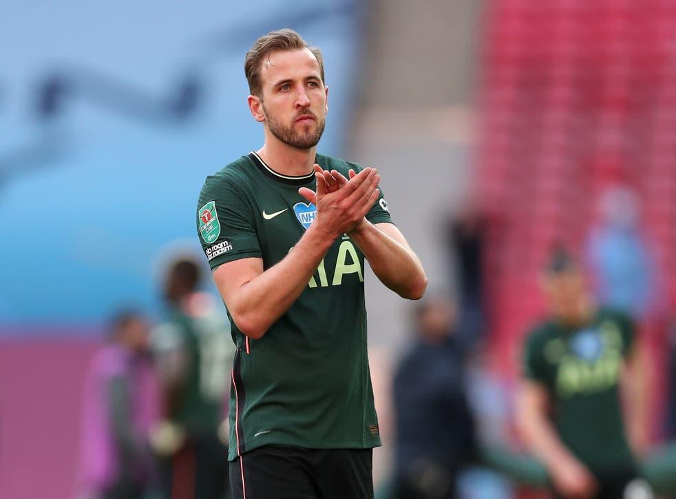 Harry Kane after Spurs' Carabao Cup defeat