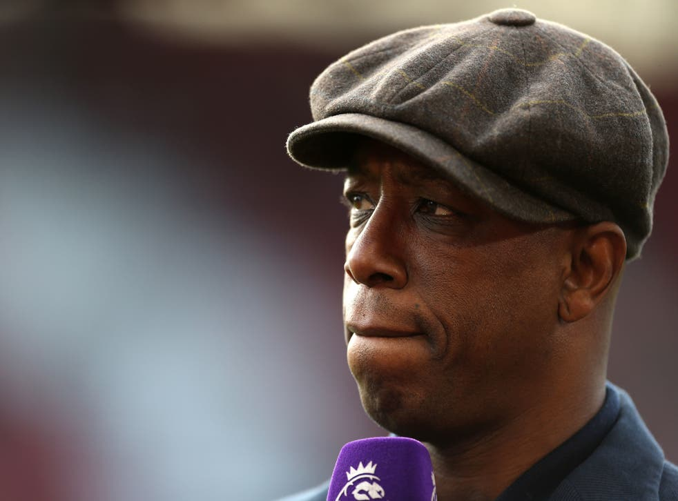 Ian Wright is a pundit for BBC Match of the Day