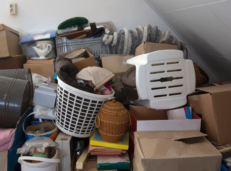 <p>Where to start? 'Decluttering the house has given me a lift as we emerge from lockdown'</p>