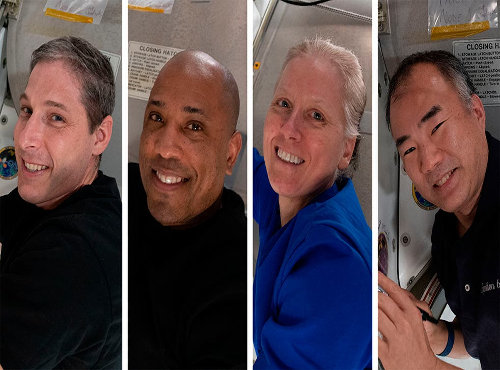 SpaceX Astronauts Return