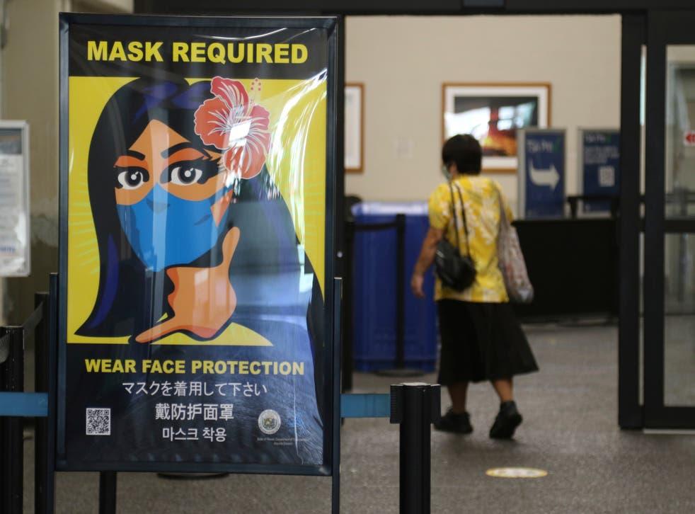 Virus Outbreak-Travel-Masks
