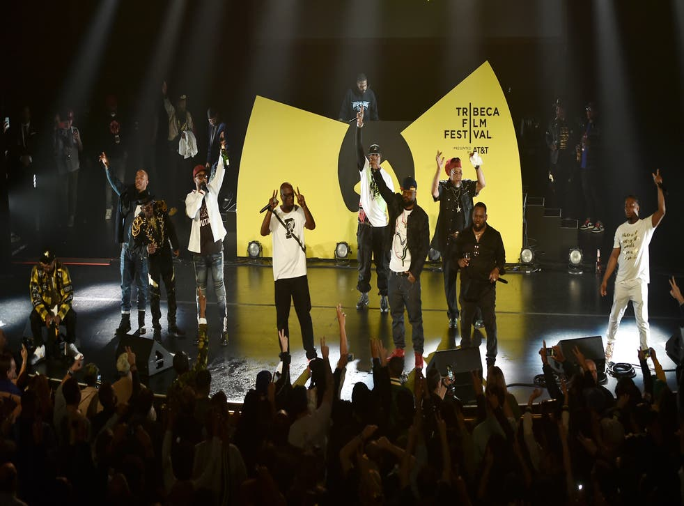 <p>The Wu-Tang Clan performs live during Tribeca TV: Wu-Tang Clan: Of Mics And Men at the 2019 Tribeca Film Festival at Beacon Theatre on April 25, 2019 in New York City.</p>