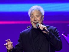 'Still got it': Tom Jones fans congratulate singer for becoming oldest man to have No 1 UK album