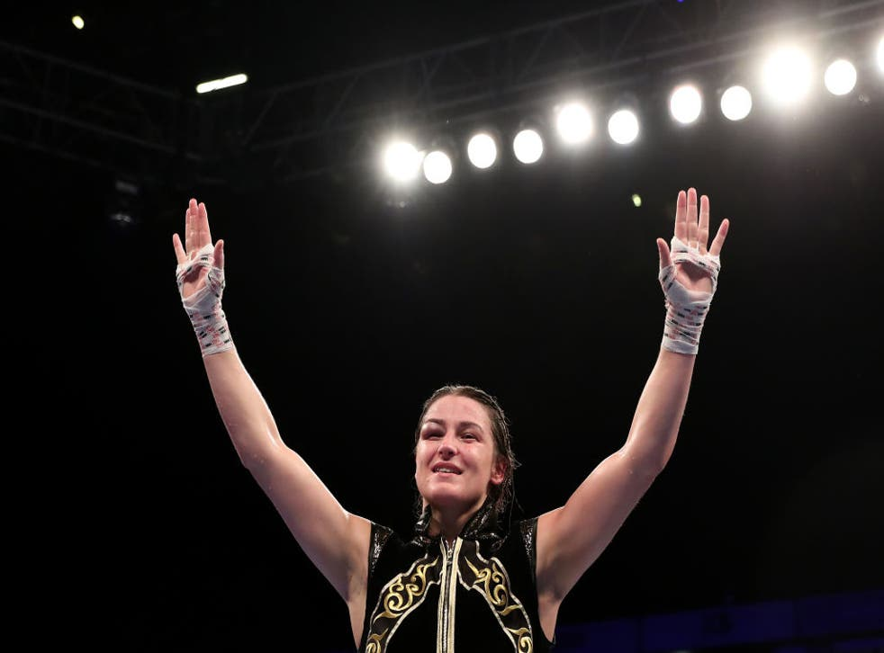 <p>Katie Taylor wants to continue to bridge the divide in boxing</p>