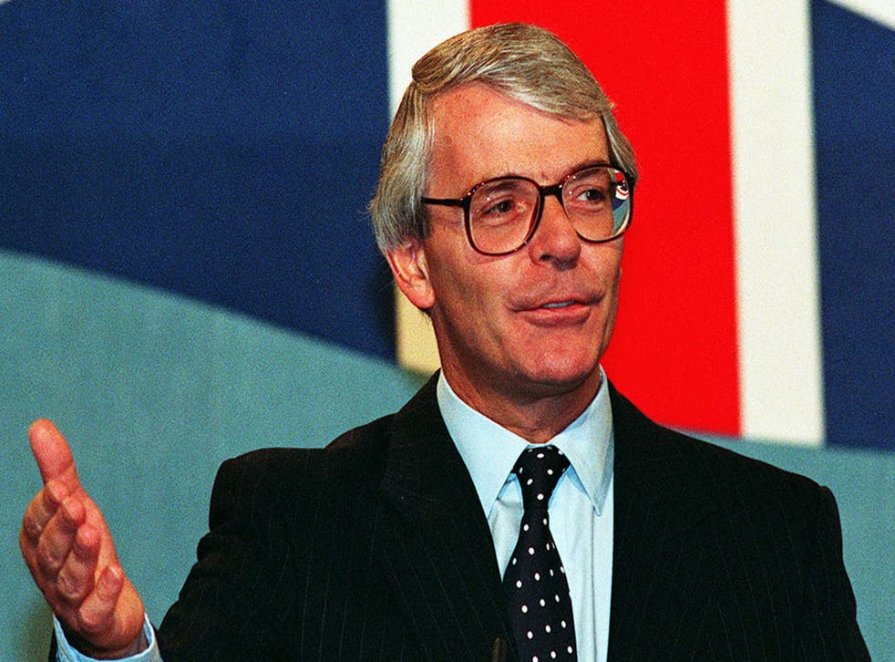 <p>John Major's 'back to basics' campaign backfired</p>