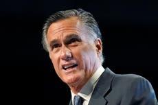 """Mitt Romney abucheado y llamado """"traidor"""" en la convención republicana de Utah"""