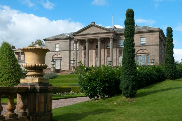 Tatton Hall, Tatton Park, Knutsford, Cheshire, England (Alamy/PA)