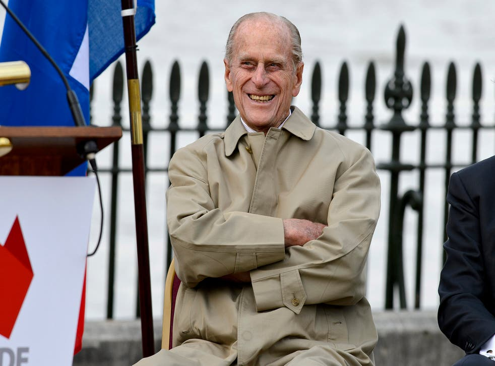 Prince Philip, Duke of Edinburgh attends the renaming ceremony for 'The City Of Adelaide' clipper ship at the Old Royal Naval College on 18 October, 2013 in Greenwich, England. A new national flagship will reportedly be named in the late Prince Philip's honour.