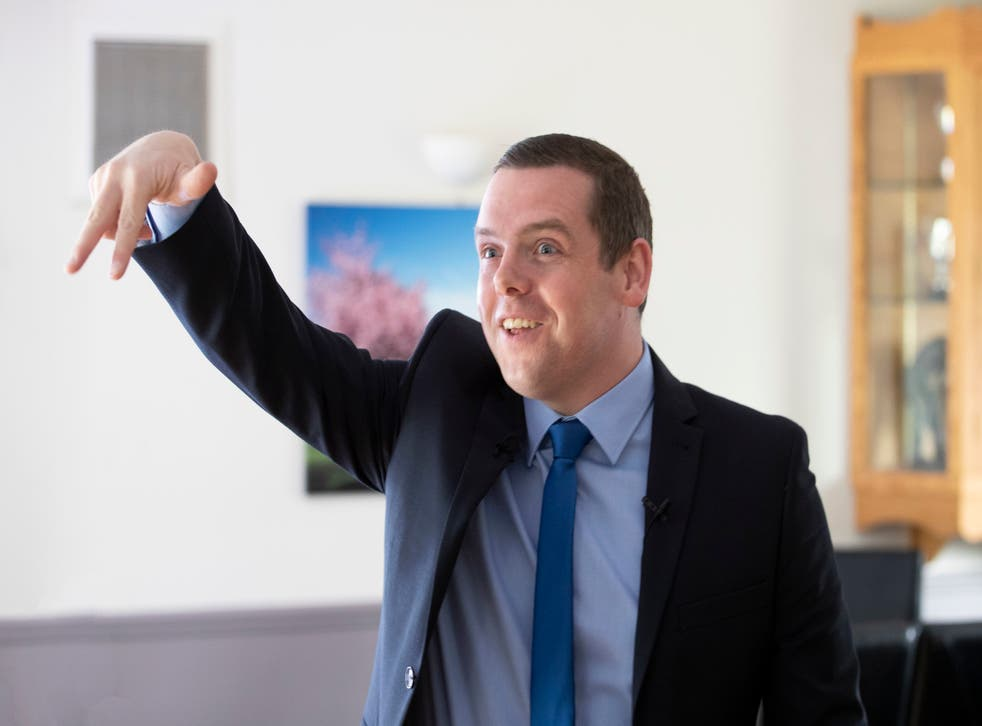 <p>Douglas Ross, the Scottish Conservative leader, said the prime minister must resign if...</p>