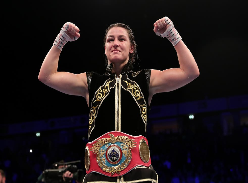 <p>Katie Taylor said her fight had stolen the show ahead of the heavyweight clash between Derek Chisora and Joseph Parker</p>