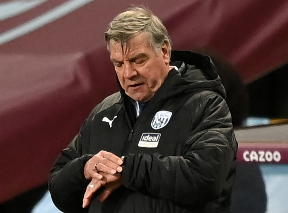 West Brom coach Sam Allardyce