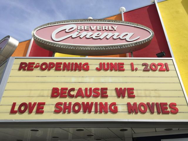 <p>New Beverly Hills Cinema</p>