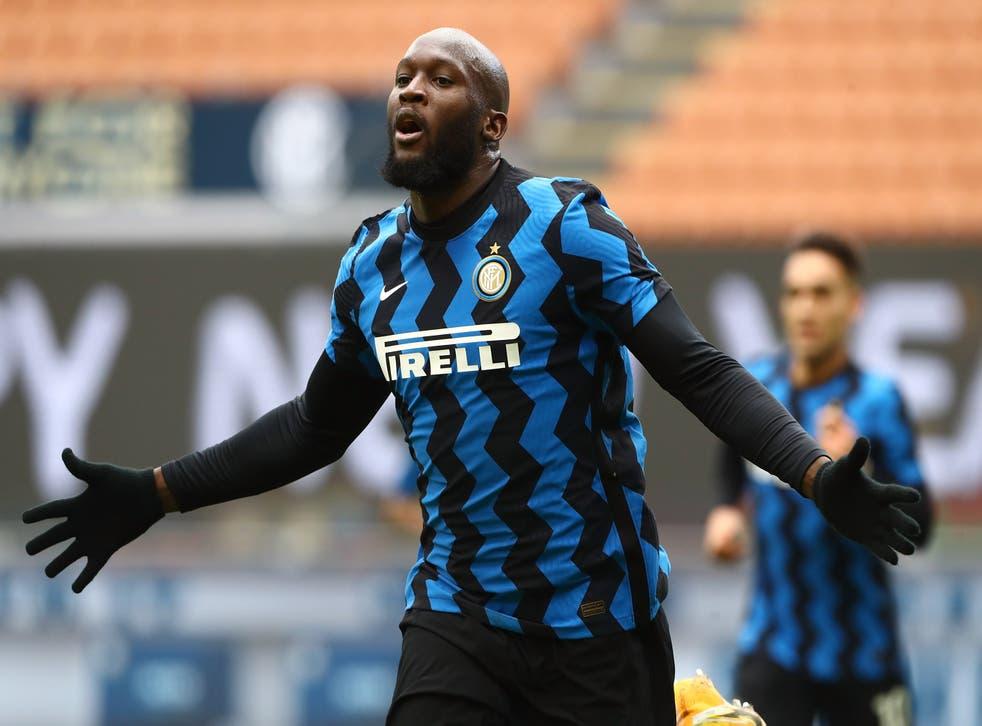 <p>Romelu Lukaku is Inter Milan's top goalscorer this season</p>