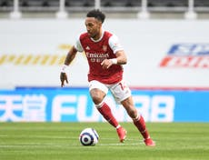 Pierre-Emerick Aubameyang thanks malaria medics after making Arsenal return