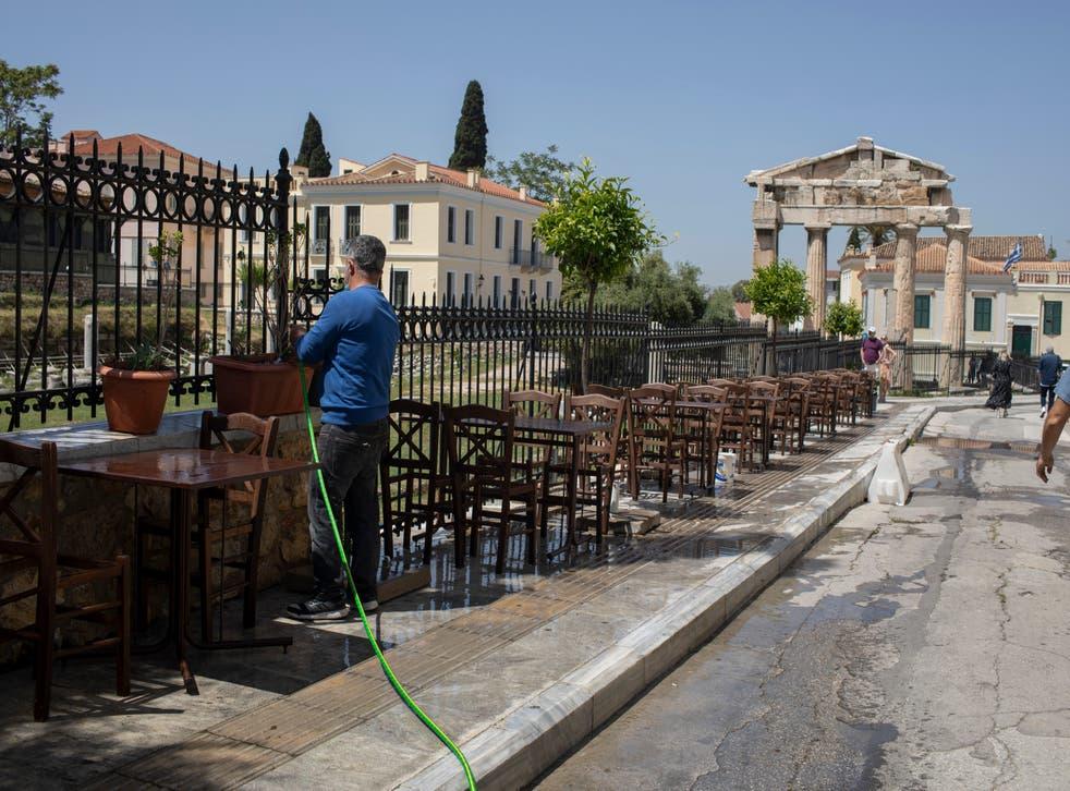 Virus Outbrake Greece
