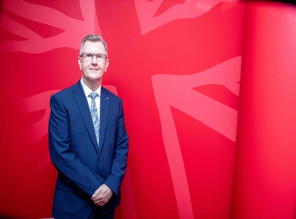 <p>Sir Jeffrey's entry in the race will mark the DUP's first ever leadership contest</p>