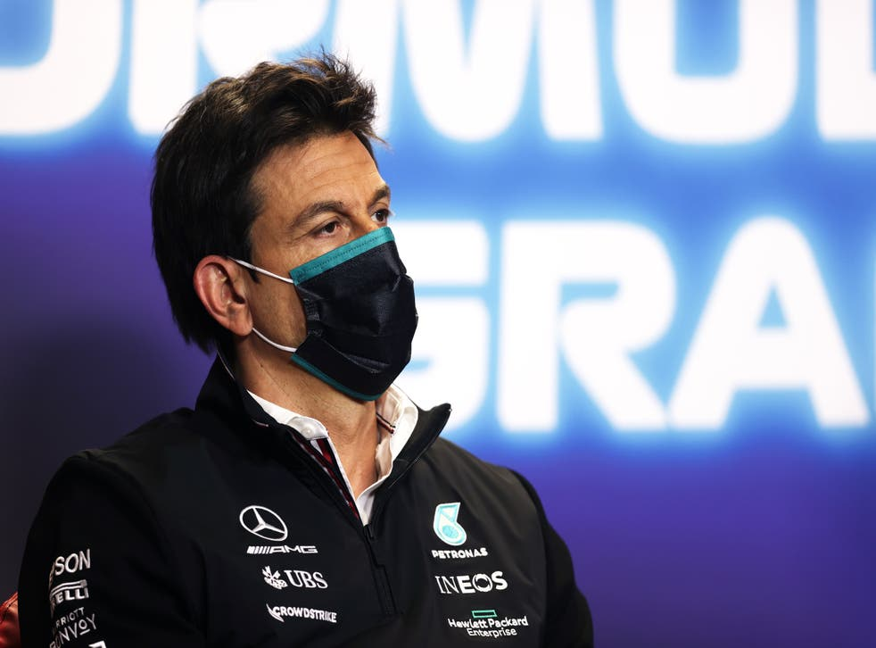 <p>Toto Wolff praised Lewis Hamilton for driving an 'immaculate race'</p>