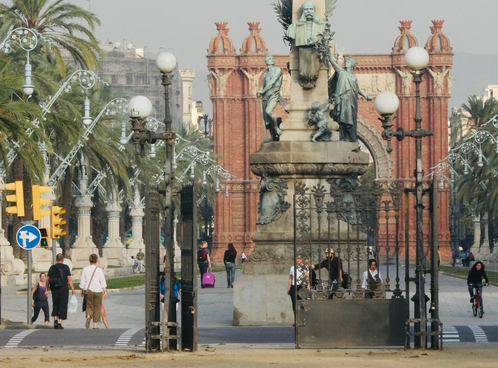 <p>Gate expectations: the European Union is trying to coordinate opening up travel to tourism hotspots such as Barcelona</p>