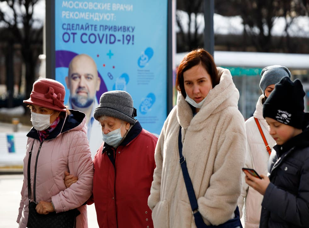 CORONAVIRUS RUSIA VACUNACION