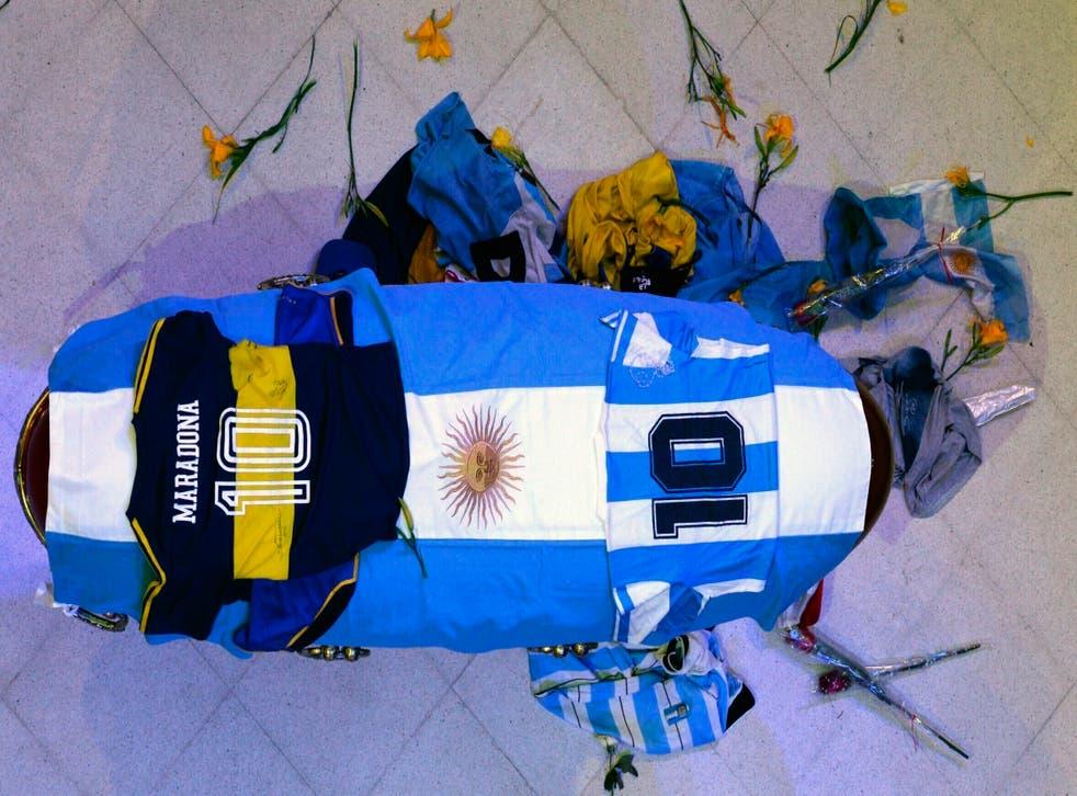 ARGENTINA-MARADONA