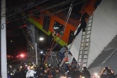 Metro cae en Ciudad de México: 15 muertos y 70 heridos