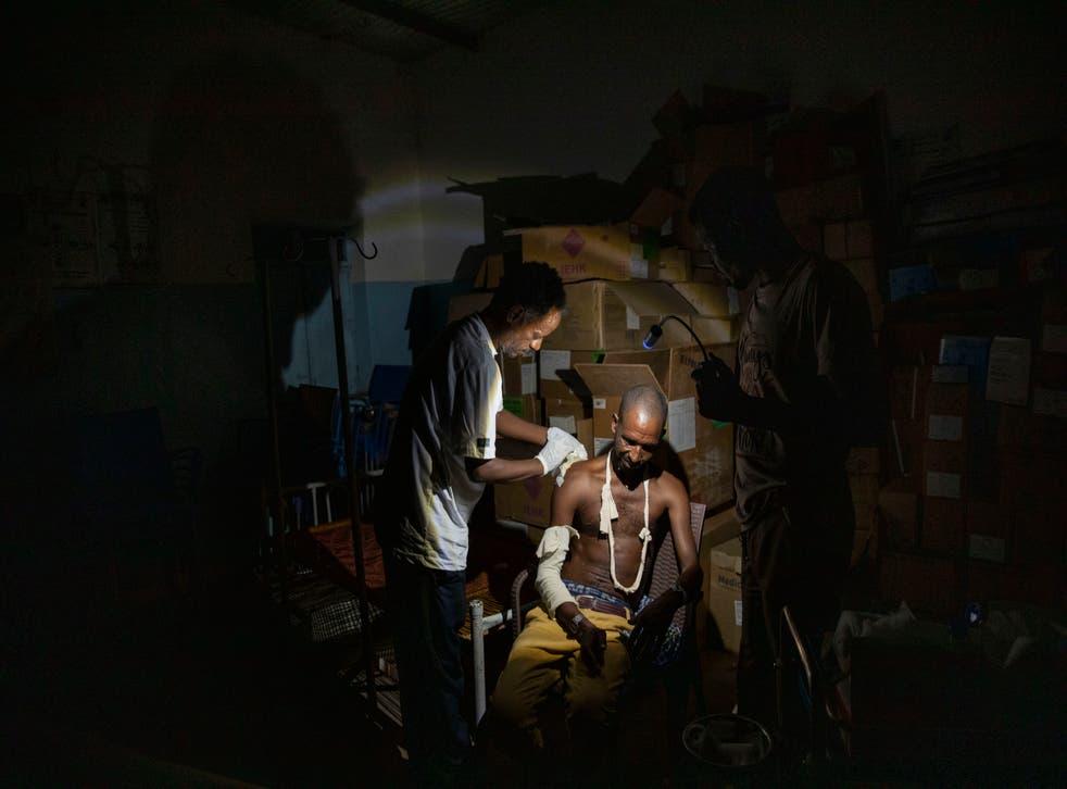 Sudan Tigrayan Refugees Doctor