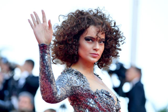 <p>File image: Kangana Ranaut attends the screening of 'Ash Is The Purest White' during the 71st annual Cannes Film Festival</p>