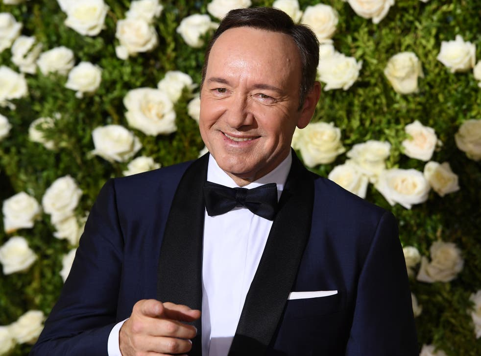 Spacey in 2017