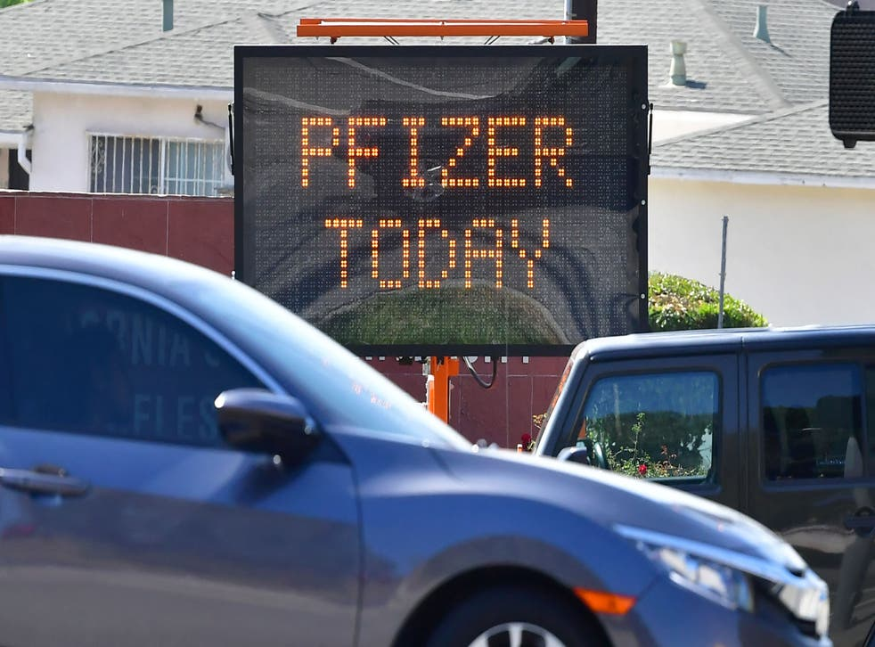 <p>FILE photo. Pfizer Chairperson and CEO, Albert Bourla, said that this largest humanitarian relief effort in our company's history. </p>