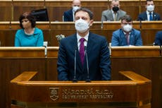 Slovakia's new government wins mandatory confidence vote
