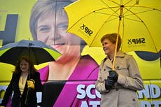 Nicola Sturgeon's chances of winning outright majority at Holyrood 'too close to call', pollster suggests