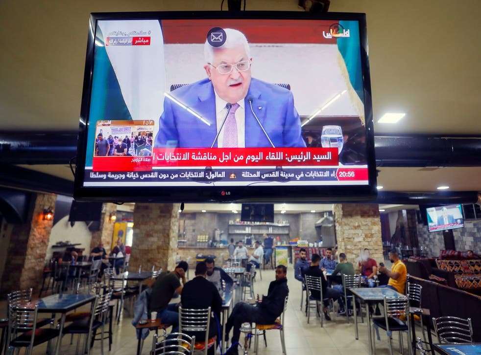<p>Trouble has brewed for Abbas and his support base since Fatah unexpectedly split into three blocs</p>