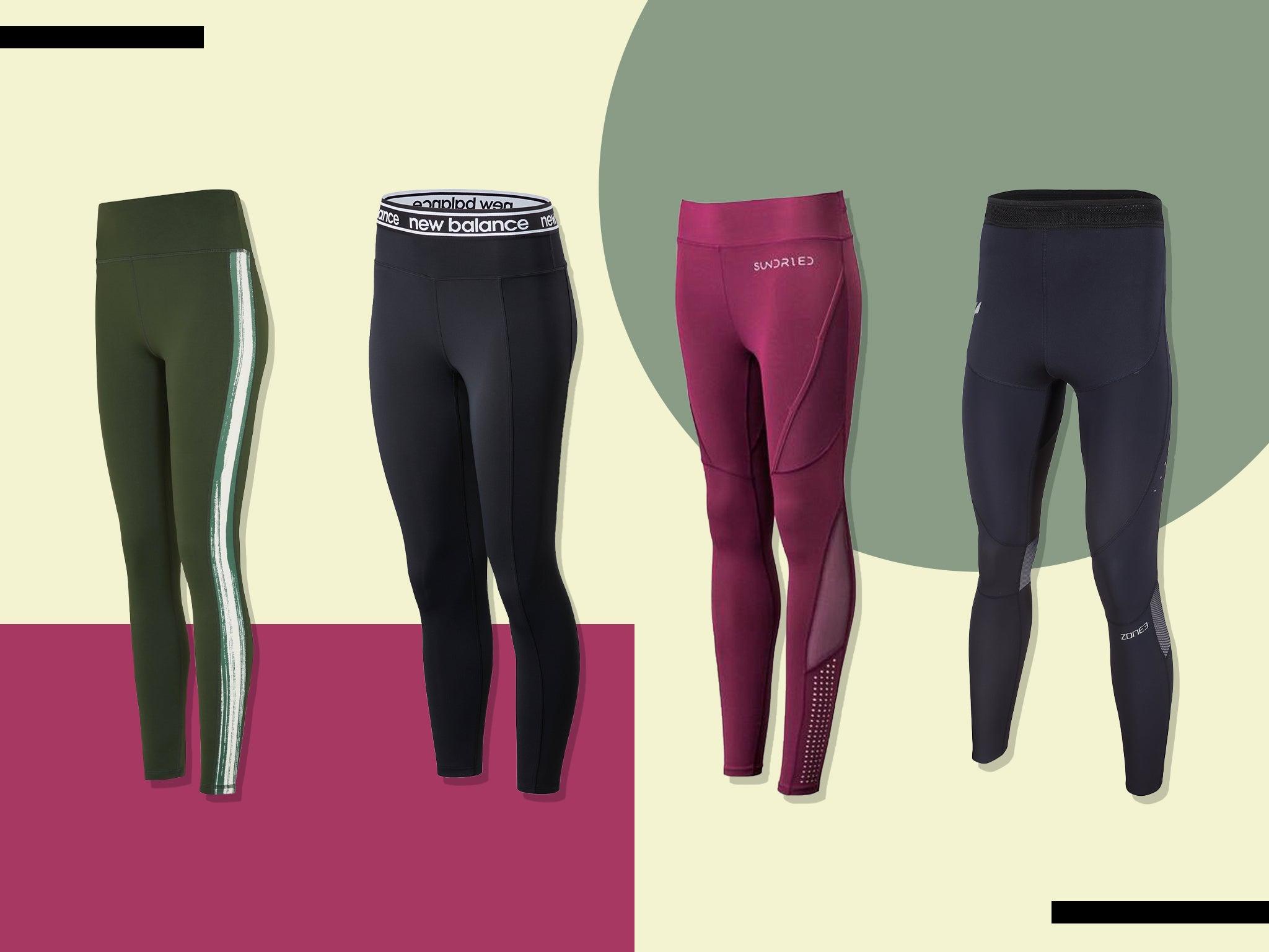 Sundried Womens Sport Gym Leggings Premium Sport Fabric Designer Fitness Running Tights Yoga Gym Training