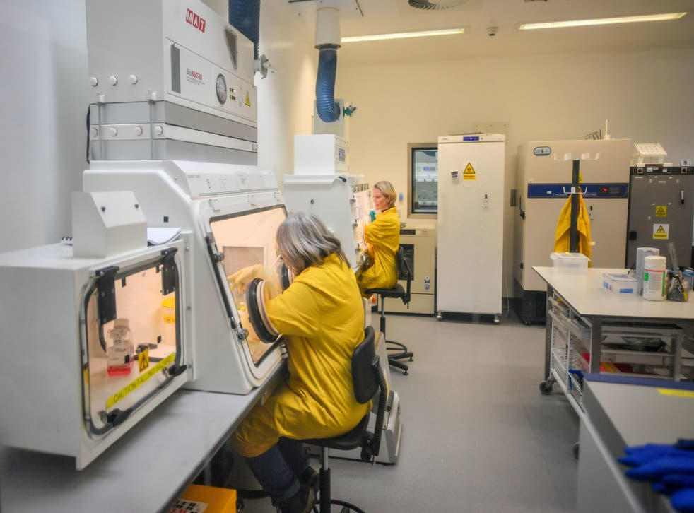 <p>Testing at the Porton Down labs in Wiltshire will be ramped up</p>
