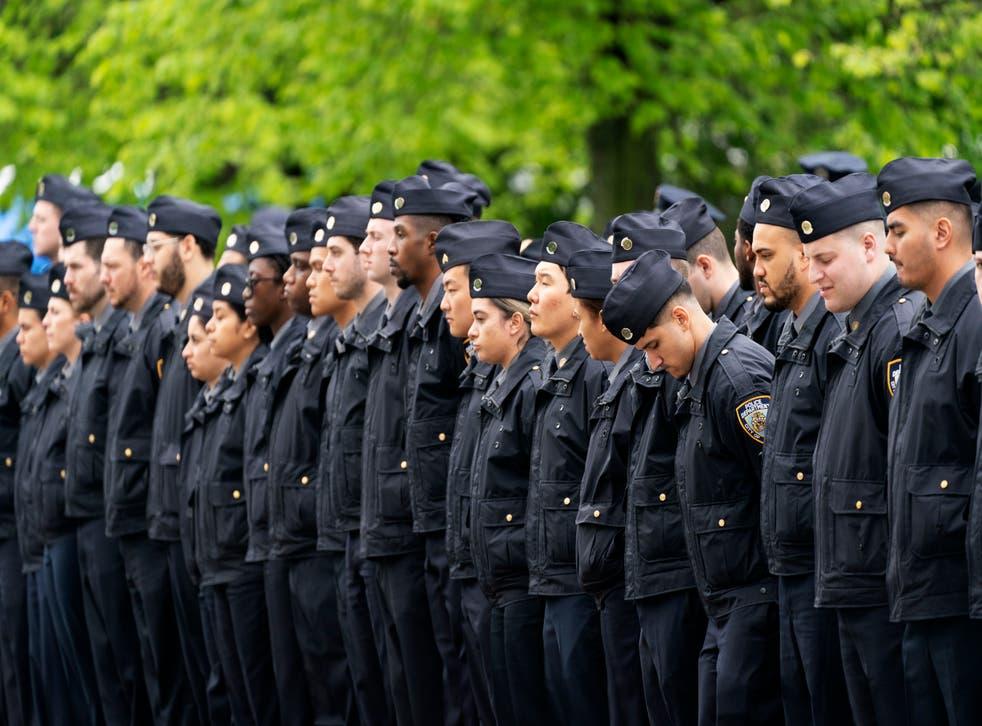 Officer Fatally Struck Funeral