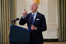 Biden says no decision yet on vaccine patent waiver – despite campaign pledge to 'absolutely' support it