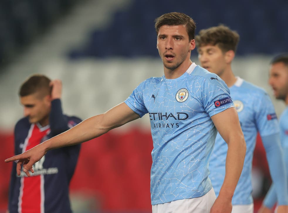 <p>Ruben Dias was sublime in central defence for Manchester City</p>