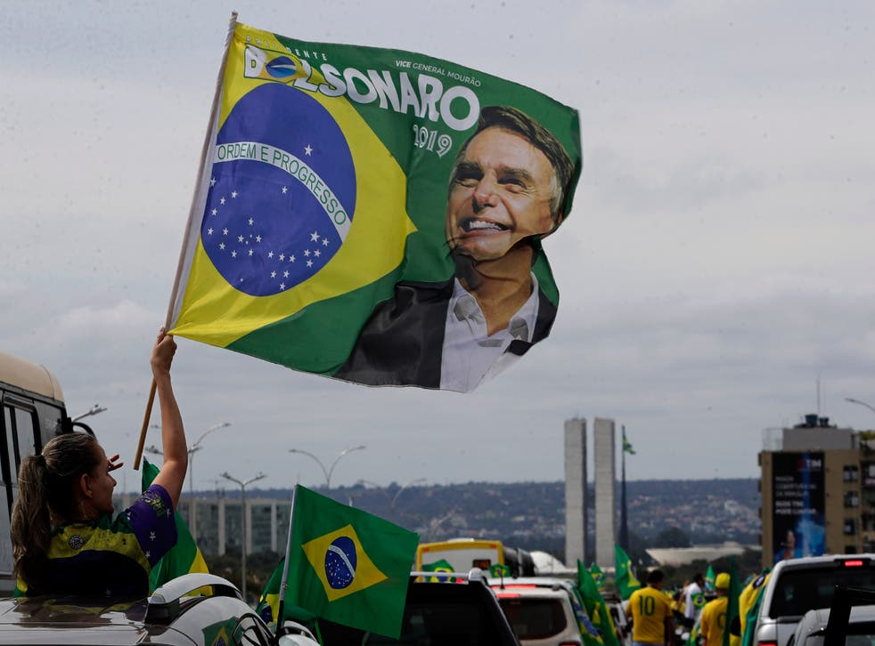 Virus Outbreak Brazil - May Day