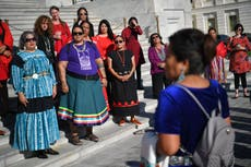 Biden vows to prioritise issue of murdered or missing Native American women and girls
